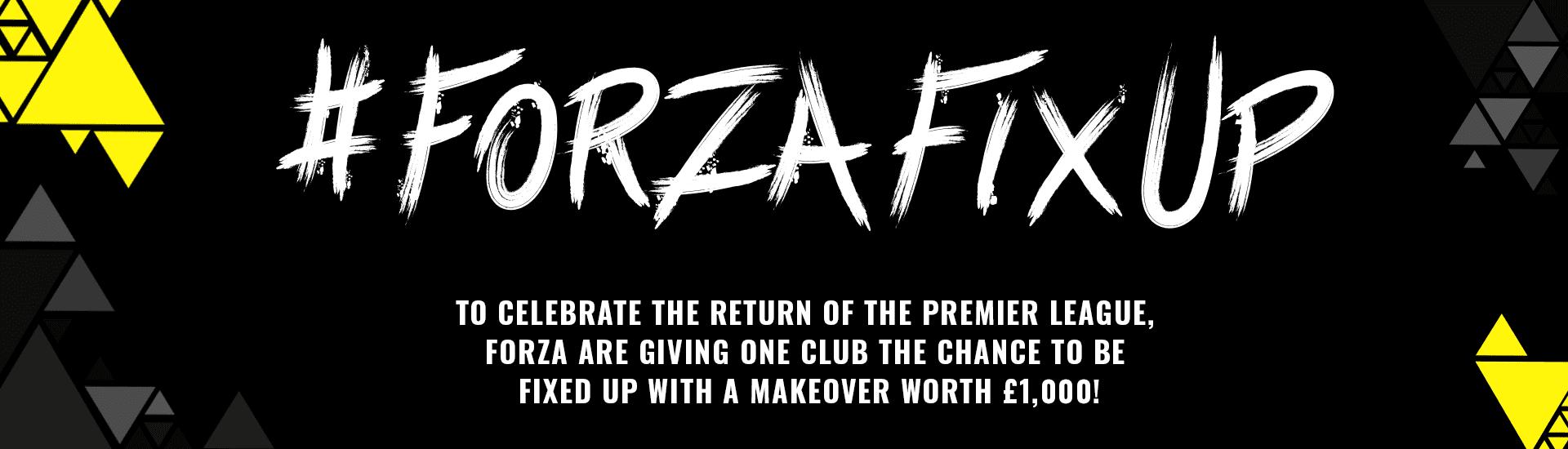 Forza Fix Up