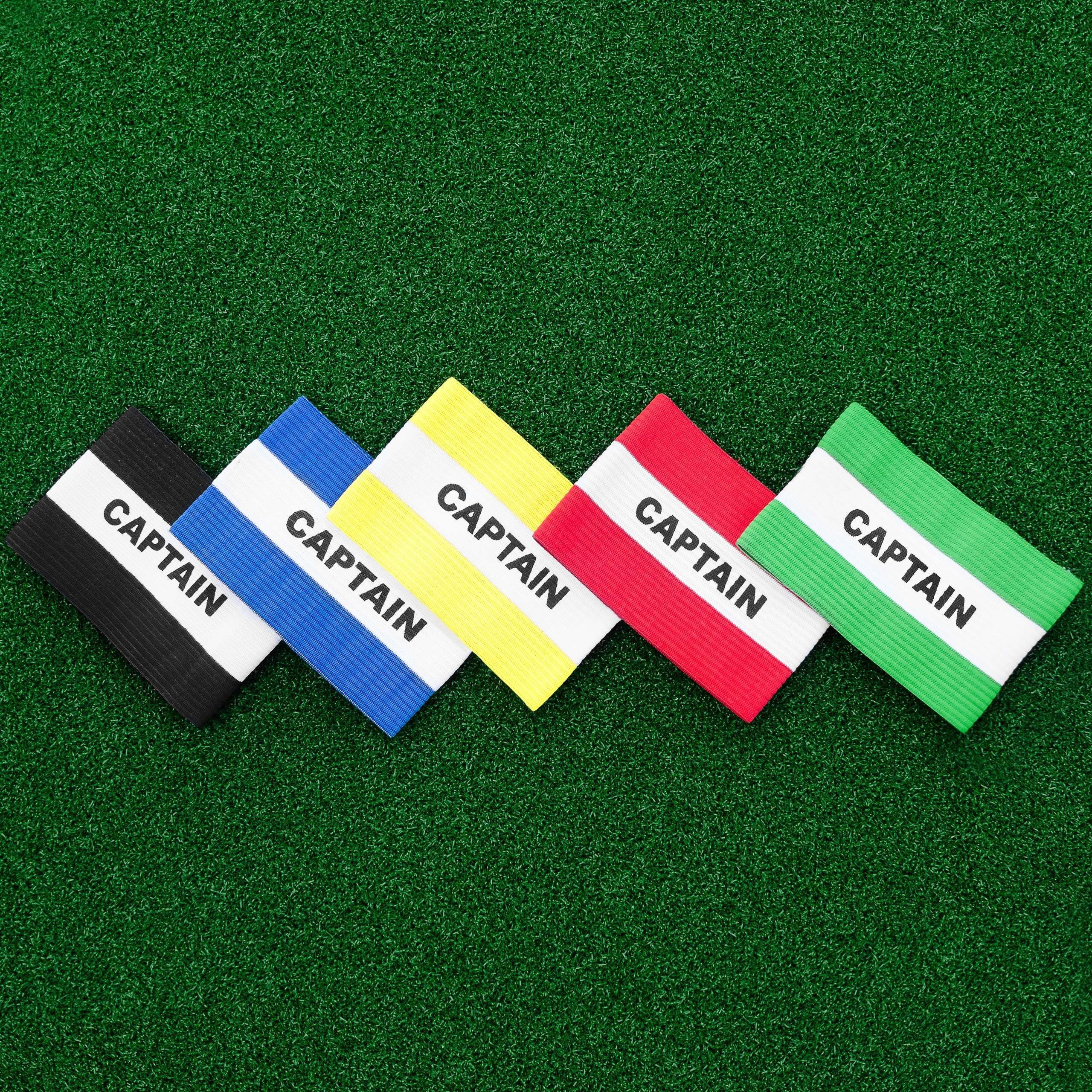 Football Team Captain's Armbands | Football Captain's Armbands (Range of Colours)