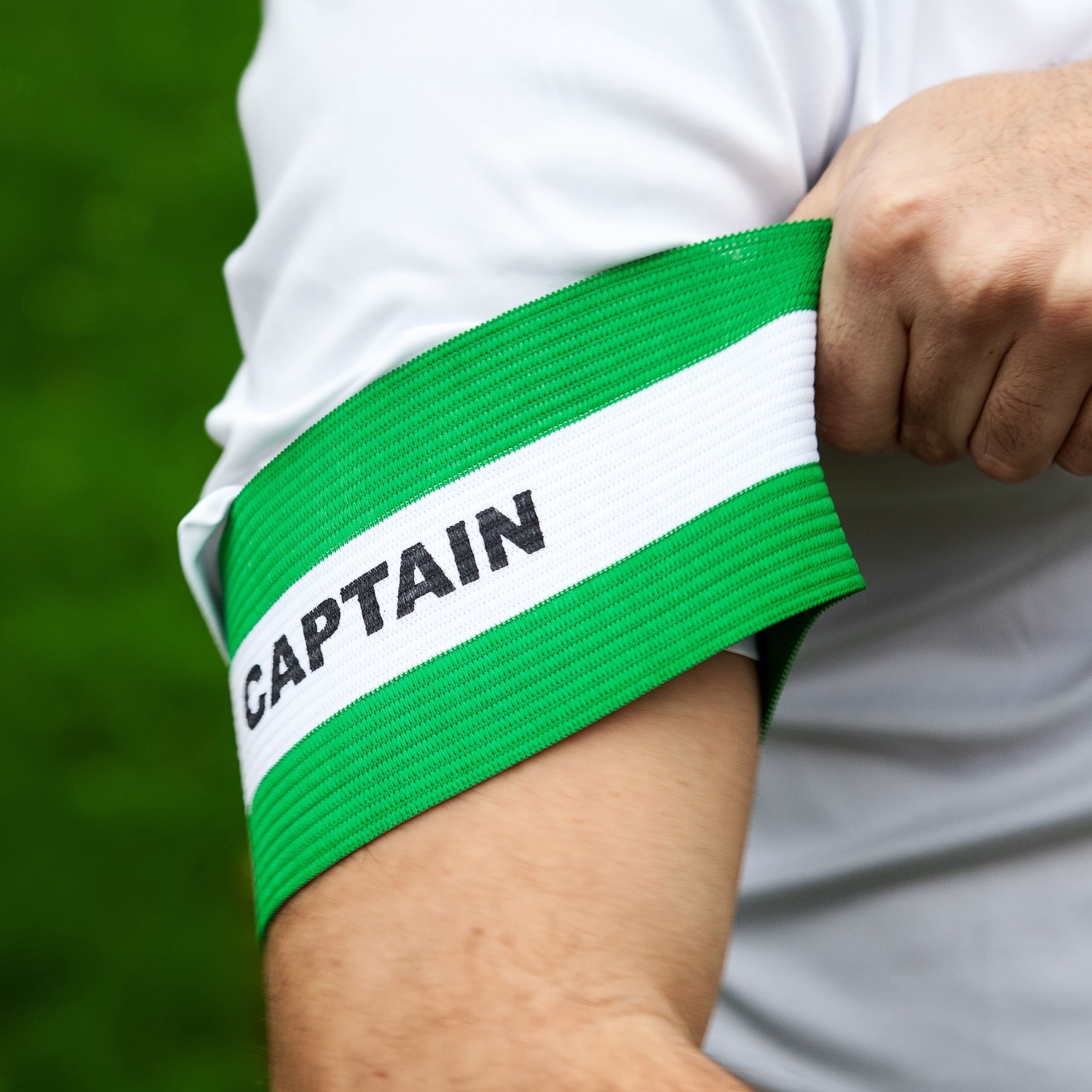 Elasticated Football Captain's Armbands | Comfortable Fitting Football Captains Armband